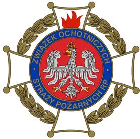 logotyp związku ochotniczych straży pożarnych RP