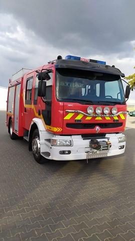 nowy wóz strażacji