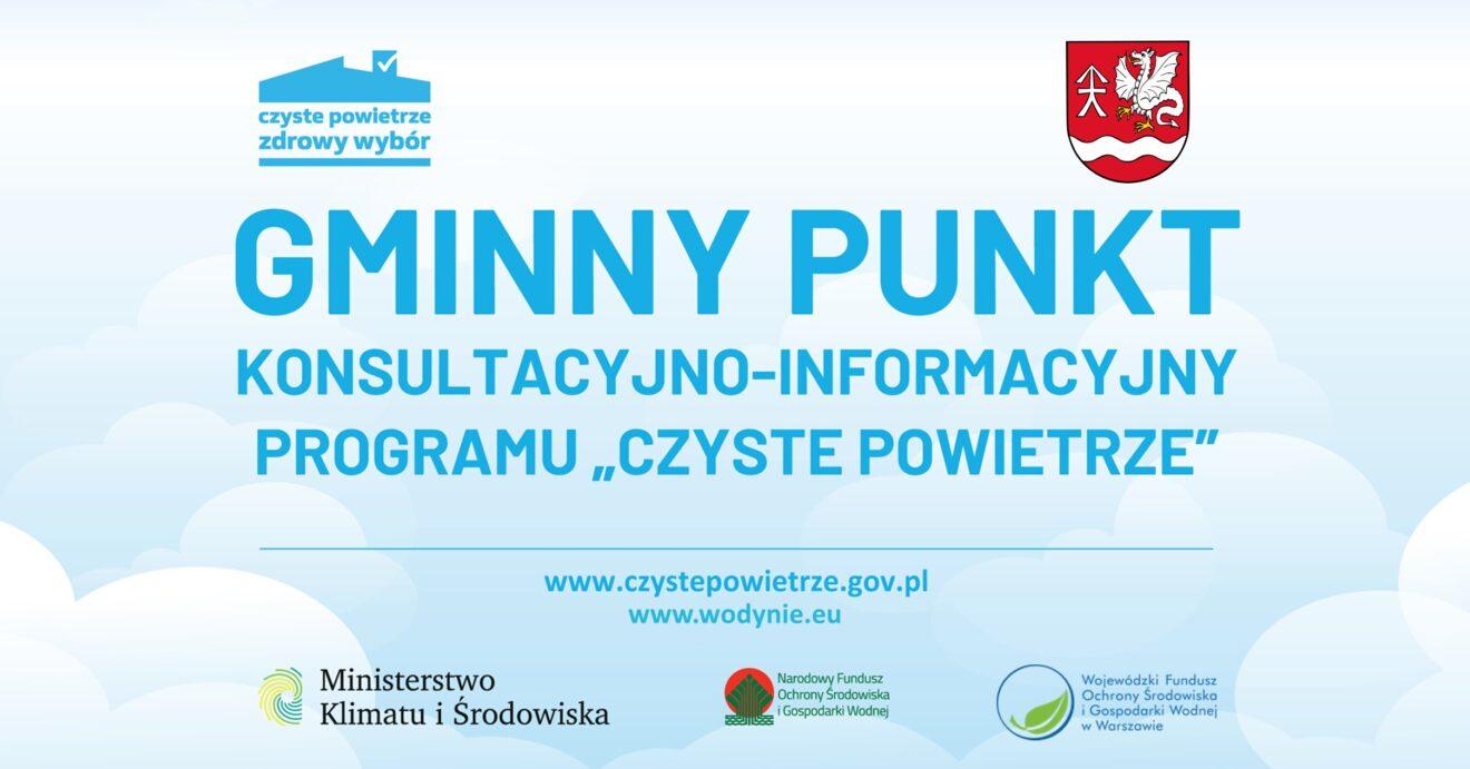 Plakat Gminny punkt